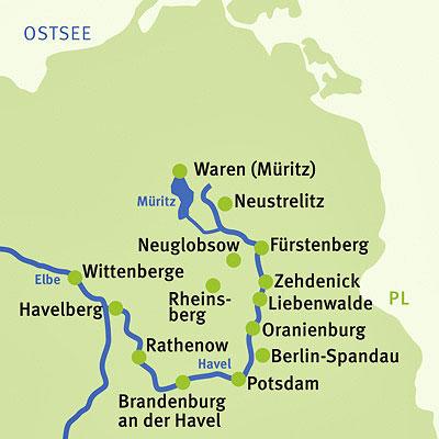 Augustustours Elberadweg