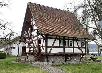 Altes Fischerhaus bodenseeradweg altes fischerhaus wangen