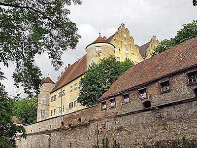Donauradweg Schloss Erbach