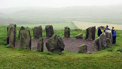 steinkreise irland karte Irland: Steinkreis Drombeg