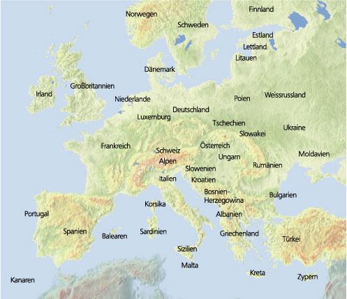 Radtourenubersicht Nach Kartenansicht Europa