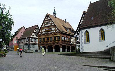 Neckarradweg Plochingen Innenstadt