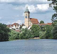 Stadtkirche in Nürtingen