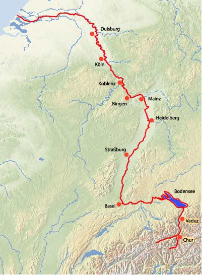 Mosel Radweg Karte Pdf.Rheinradweg Fahrradtouren Entlang Des Rheintales