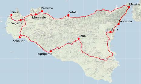 Sizilien Per Fahrrad Tagebuch Unserer Sizilientour
